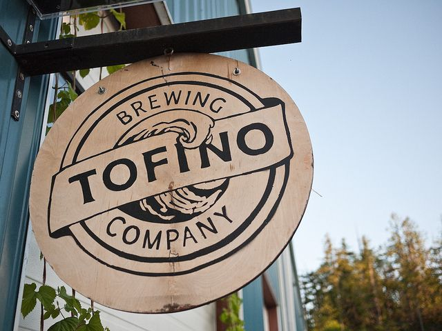 Try the local craft beers from Tofino Brewing Co.