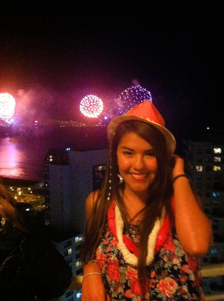 Karla Díaz Oyanader, Año nuevo en mi lugar favorito del mundo! #selfie #concurso @revistadecosta @DeVinaDelMar pic.twitter.com/swcmSrzfDt