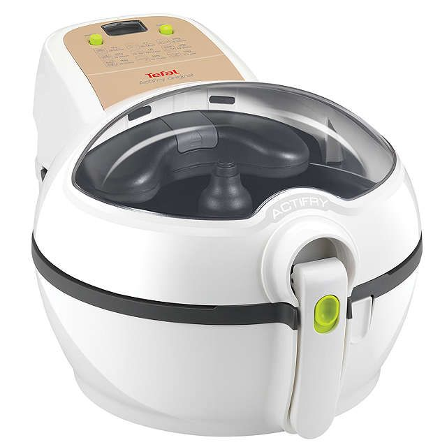 Tefal Actifry Plus with Snacking Rack Low Fat Fryer, White at John Lewis