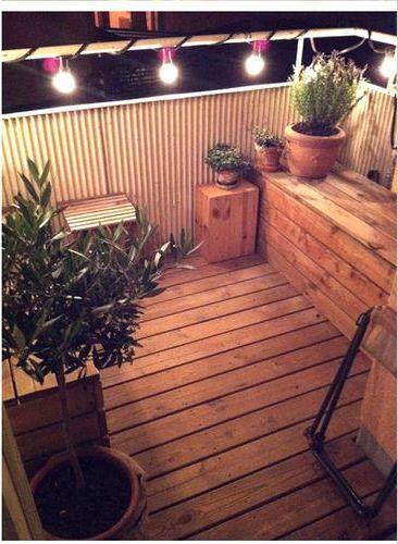 Balkon idee