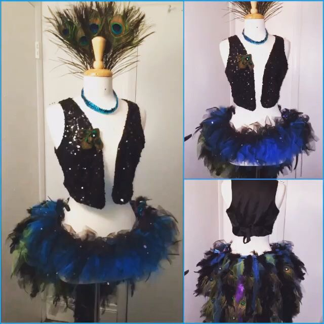41 best burlesque images on pinterest burlesque showgirls and diy peacock burlesque costume solutioingenieria Image collections