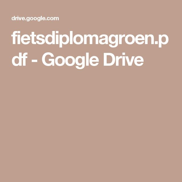 fietsdiplomagroen.pdf - Google Drive