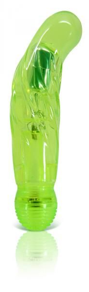 Juicy Vibrating Dildo Green Bulk on naughtycandyz