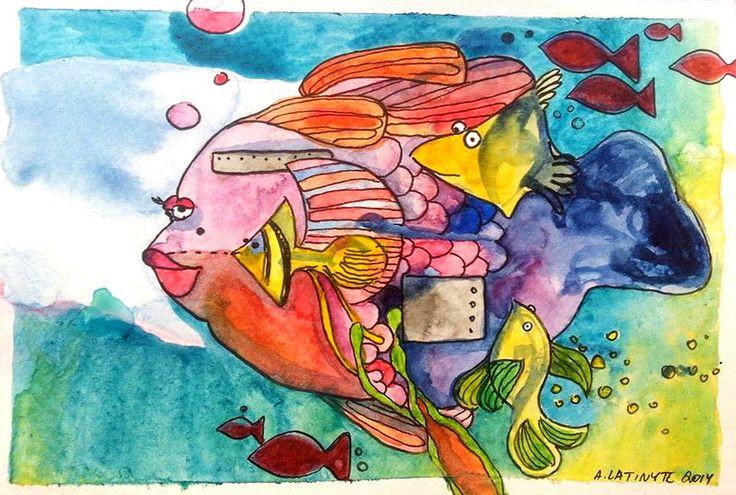 Fish tank by Yuujin on deviantART
