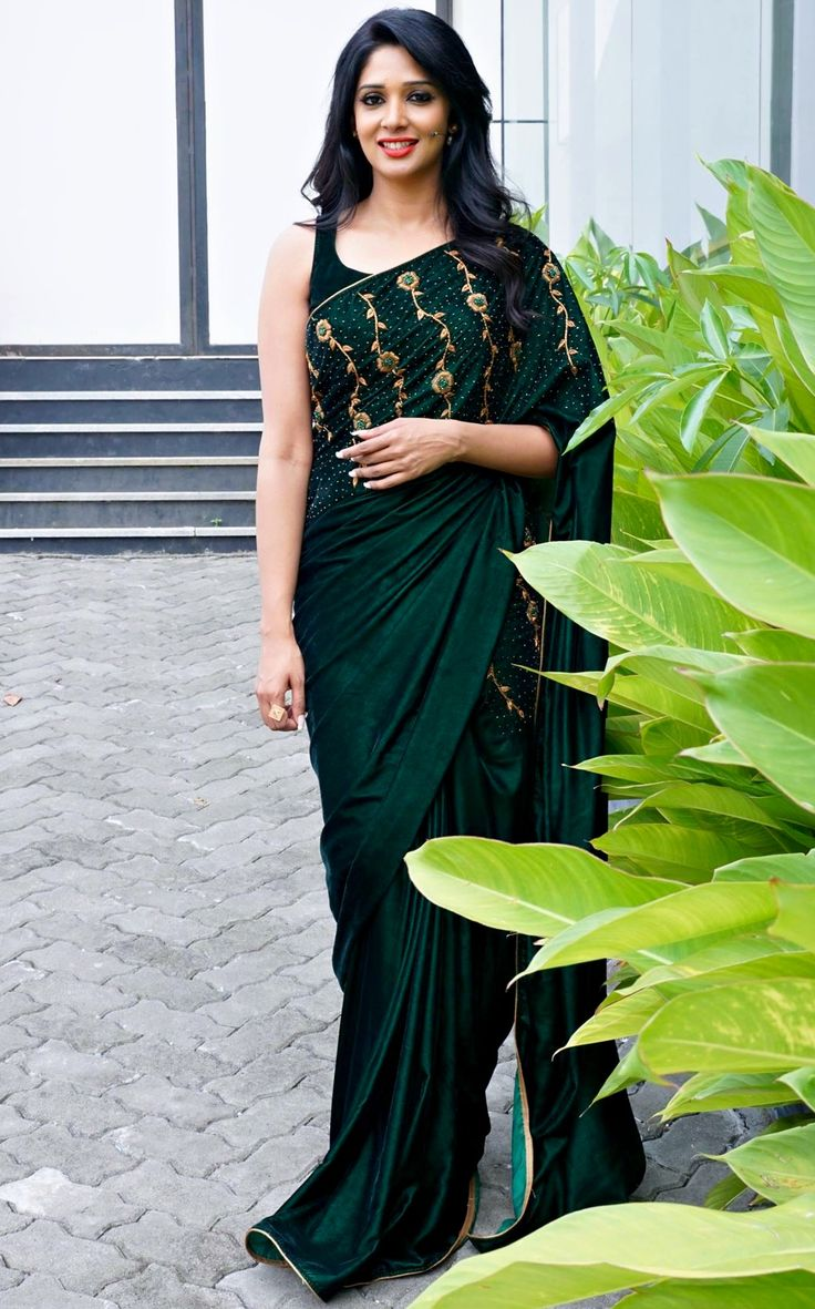 Nyla Usha in an outfit by Paislee