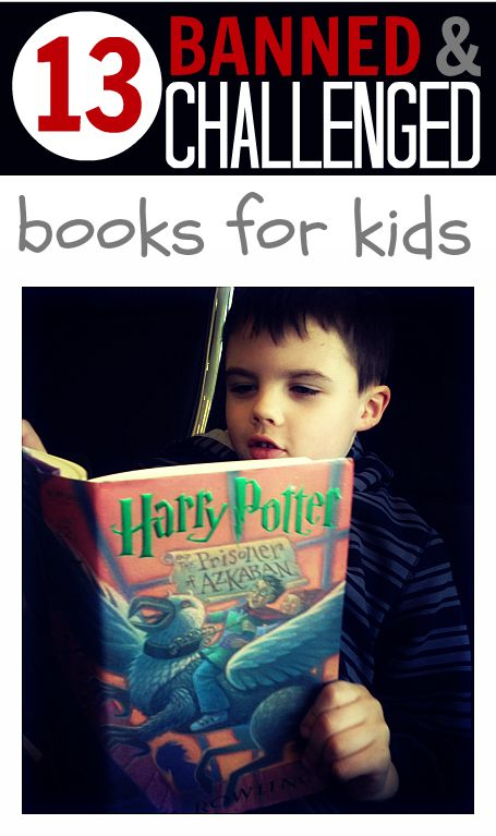 Did you know that books are still being challenged and banned? Here are 13 kids books that make that list ( with full reviews) .