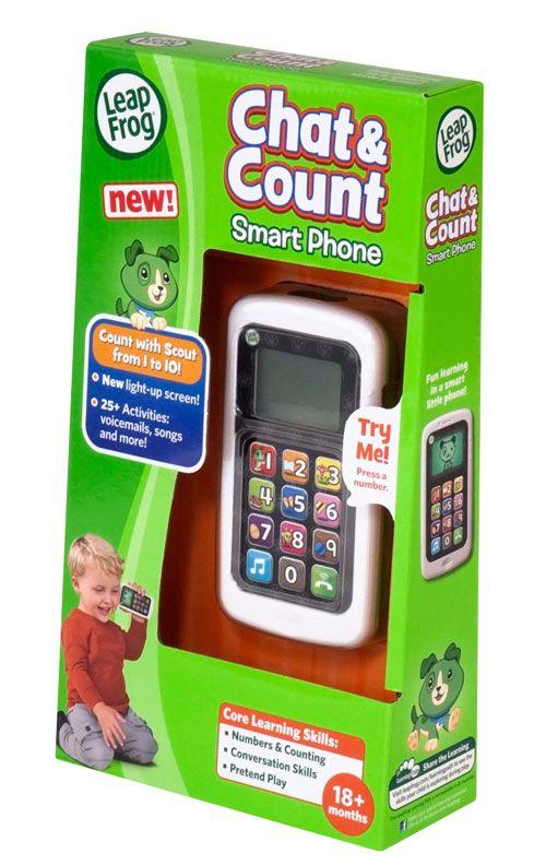 LeapFrog Chat & Count Smart Phone Language: English Age: 18 + Months UPC: 708431191457