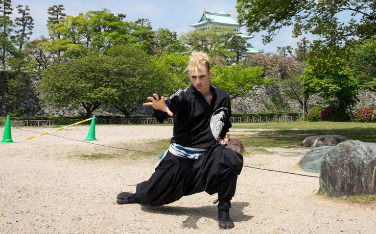 Meet Chris, the first westerner to be officially employed as a ninja