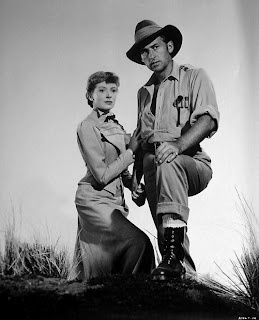 Stewart Granger and Deborah Kerr in King Solomon's Mines (1950)