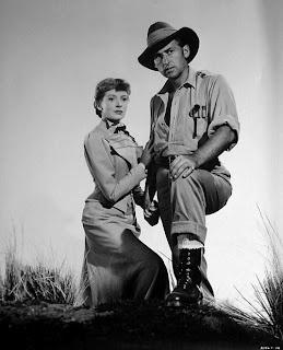 Stewart Granger and Deborah Kerr in King Solomon's Mines (1950)