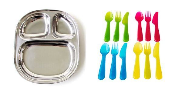 Perfect for a Family Picnic   Colorful Picnic Utensils   Sustainable Picnic Plates