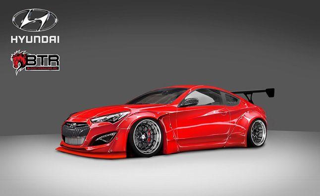 Custom Hyundai Genesis Coupe Added to SEMA Roster. For more, click http://www.autoguide.com/auto-news/2014/10/custom-hyundai-genesis-coupe-adds-sema-roster.html