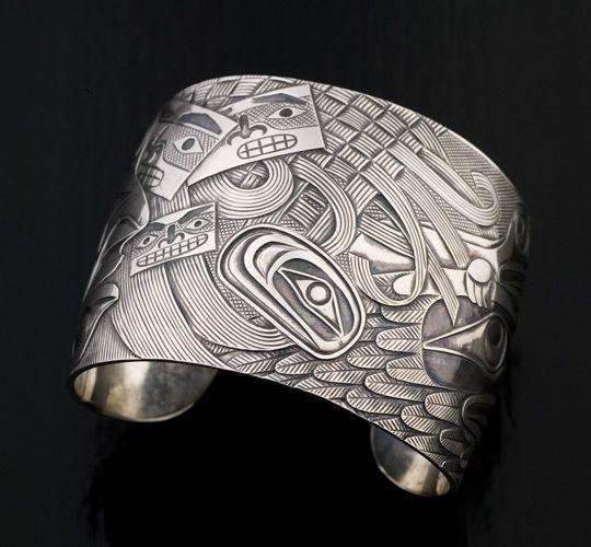 Daydreamer Bracelet by Shawn Hunt, Heiltsuk artist (W71013)