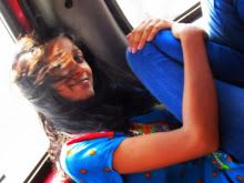 """""""sunshine on my shoulder makes me happy""""  (: the colourful peoples of kolkata :D"""