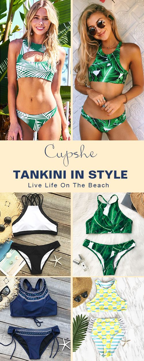 Treat Yourself to Something Special. Help yourself to something relexing and young! Discover more wonderful self as you walking along the sea in Cupshe bikinis. Check them out!