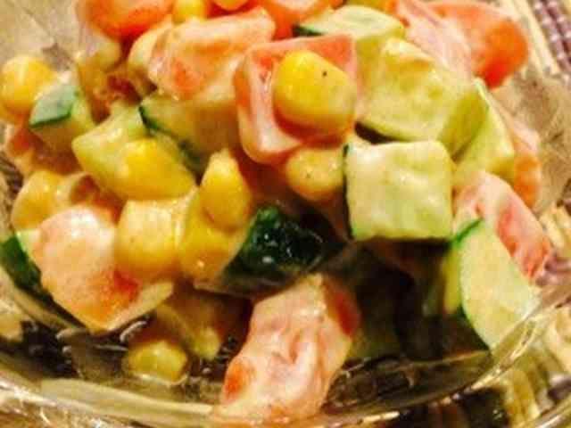 メキシカン グリーンサラダの画像