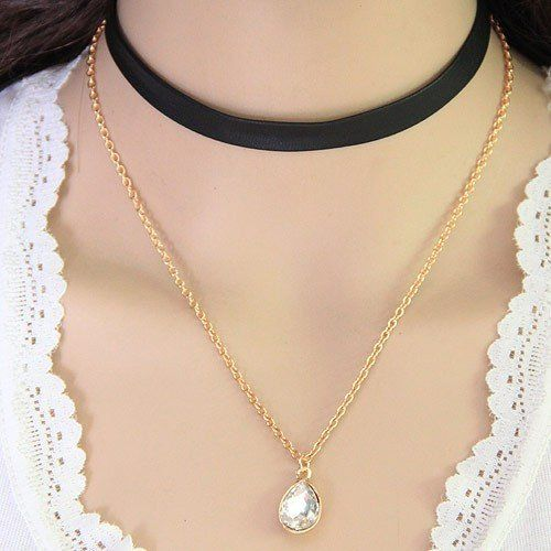 Gilded Layers Chunky Pearl Necklace The Fashion Bible Av3C388uAO