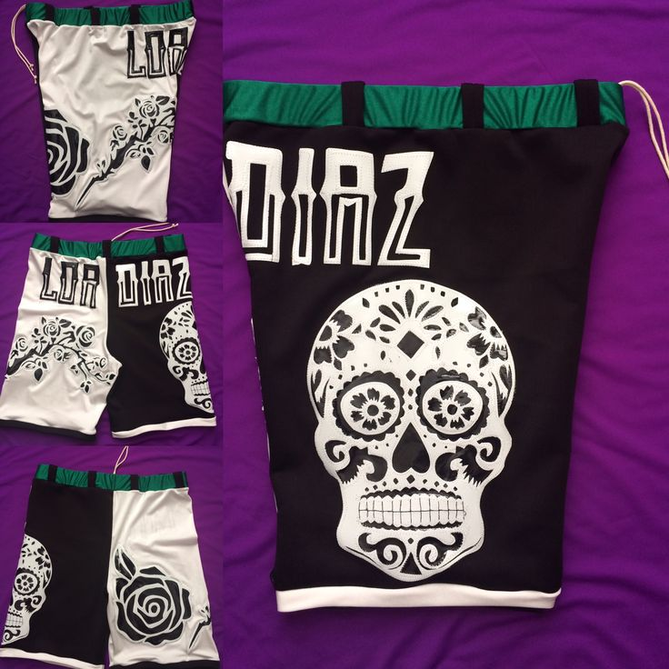 Wrestling shorts by Broz Wrestling Designs - custom work by Ava Broz