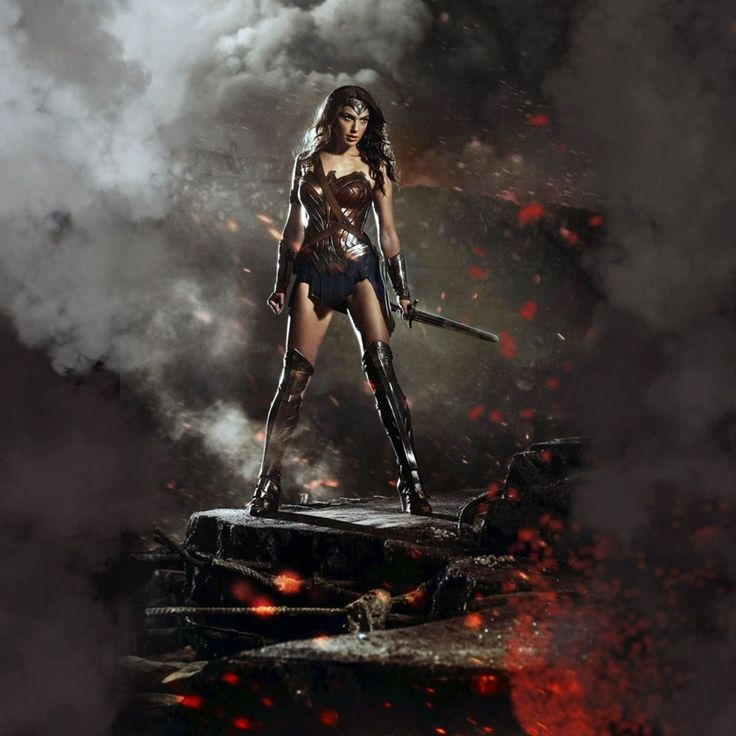 Download Wonder Woman In Batman V Superman HD Wallpaper In 2048x2048 Screen Resolution