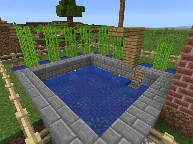 154 Best Images About Minecraft Houses On Pinterest Mansions Swimming Pool Designs And