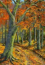 Resultado de imagen para cuadros al óleo de árboles