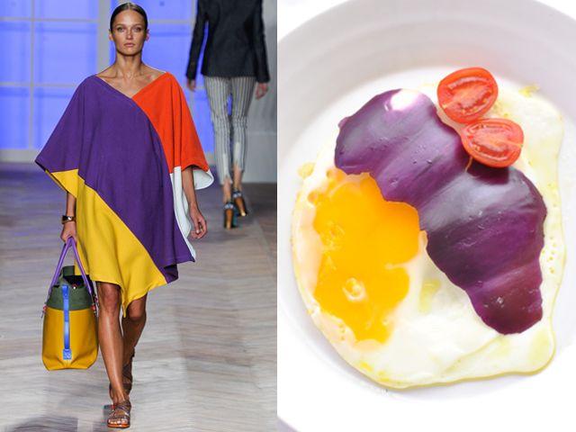 Tommy Hilfiger ss 2012 / Sunny-side-up egg