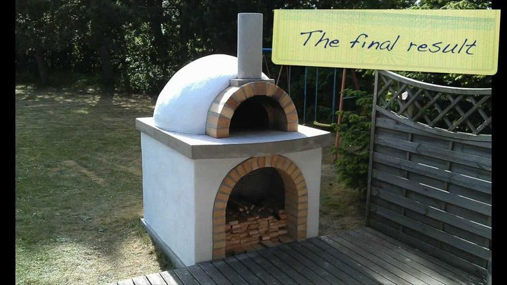 Pdf how to make a brick pizza oven diy free plans download for Outdoor oven diy