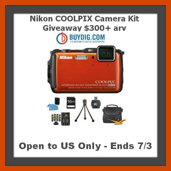Nikon COOLPIX Camera Kit Giveaway