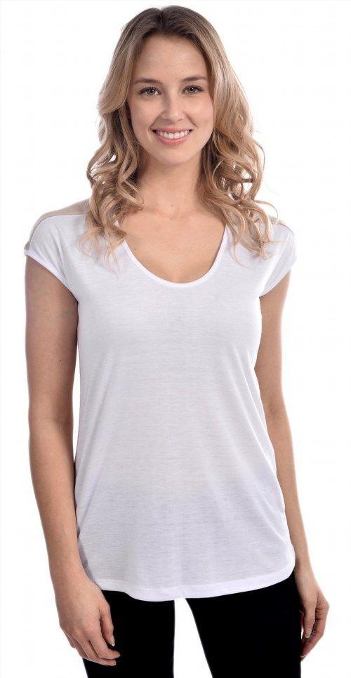 22.99$  Buy now - http://vidtm.justgood.pw/vig/item.php?t=fhe60db231 - Craze Short Sleeve Scoop Neck Loose Fit Fashion Top 22.99$