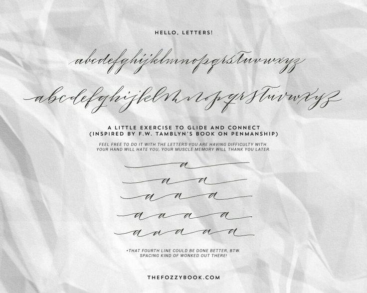Best calligraphy drills exemplars images on pinterest