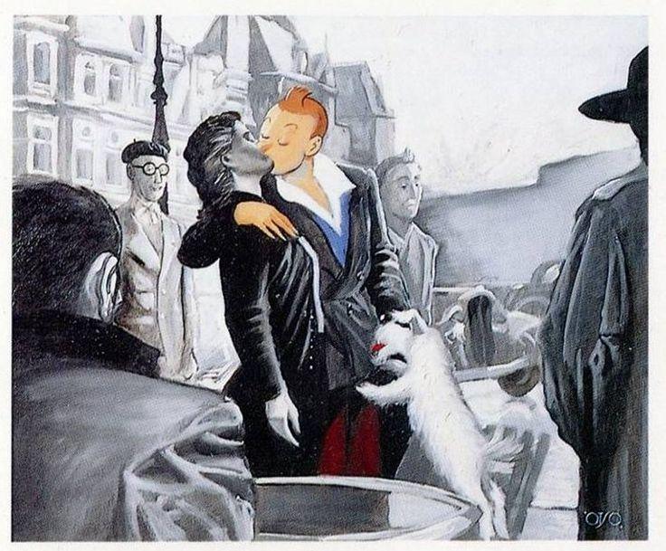 Tintin, Un belge a Paris Otso