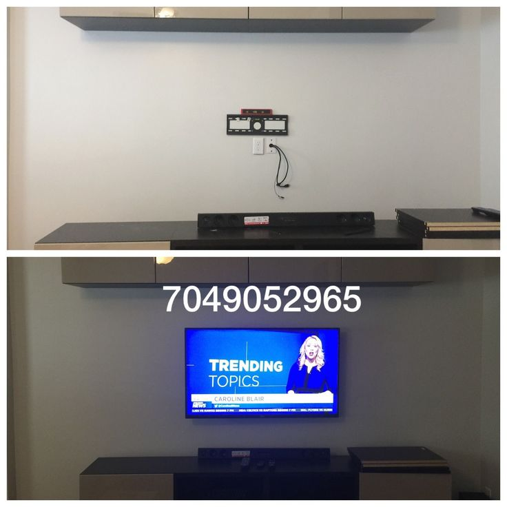 We install an electrical outlet behind every tv installation. RunningTV power cords and extensions in the wall is a fire hazard. Please consult one of our professional installers to ensure your flatscreen tv mount is up to electrical code. 14 years experience. Licensed and insured. https:// tvmountcharlotte.com