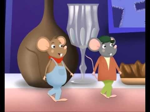 Rato da Cidade e o Rato do Campo - YouTube