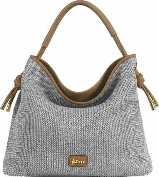 τσάντα ψάθα Kem matting bag Kem