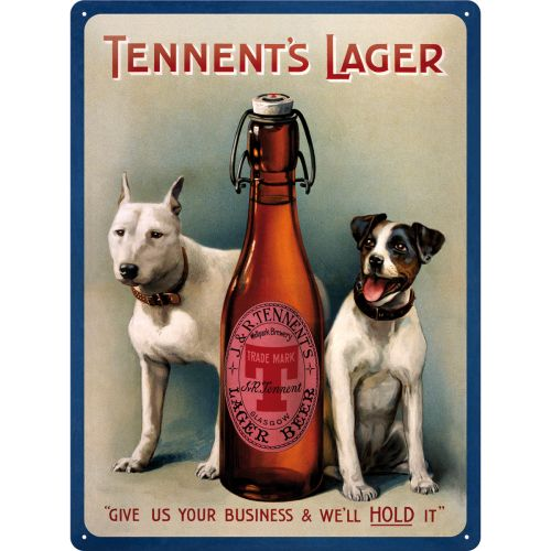 Tennents Lager - http://www.retrozone.pl/pl/p/Tennents-Lager/178