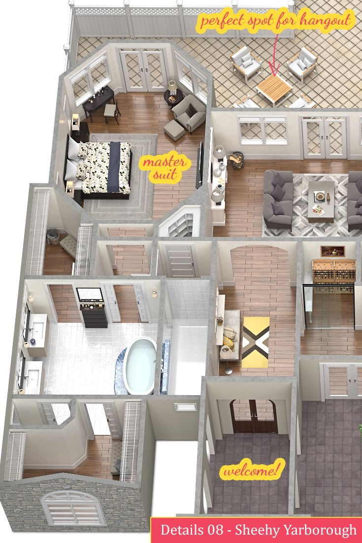345 best floor plans images on pinterest architecture floor details 08 sheehy yarborough welcome to the new home realestate toolboxhome interiorsnew homesfloor planshouse planswelcome togaragepatio
