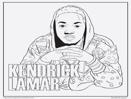Coloring Pages Of Famous Rappers Google Search