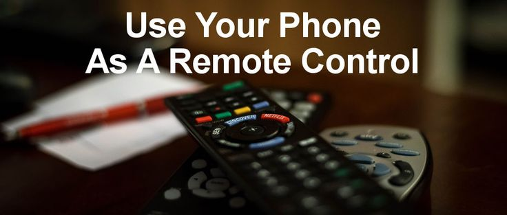 Remote control TVs, set top boxes and more from your Android phone. Is the remote for your TV, set top box, music system and other devices broken? Before you buy a new remote, try these Android apps which turn your phone into a remote control for all your devices.