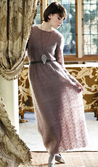 Ravelry: Melford Dress pattern by Marie Wallin