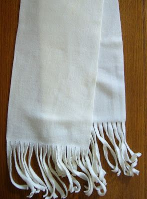 Simply Shoe Boxes: Curly Fringe, Fleece Scarf Tutorial ~ EASY and very inexpensive if you find clearance fleece throws.