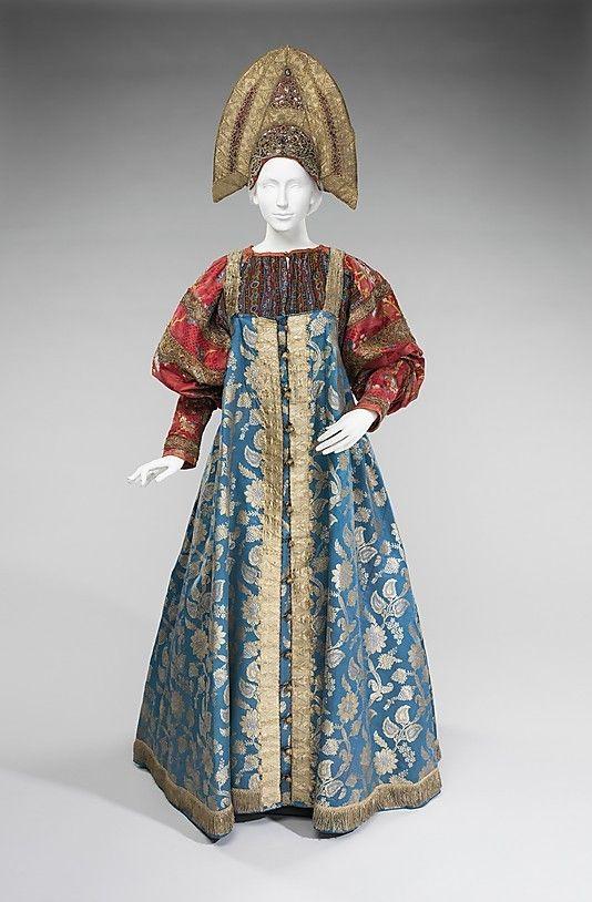 Русский народный костюм, коллекция Натальи Шабельской, XIX век #embroidery