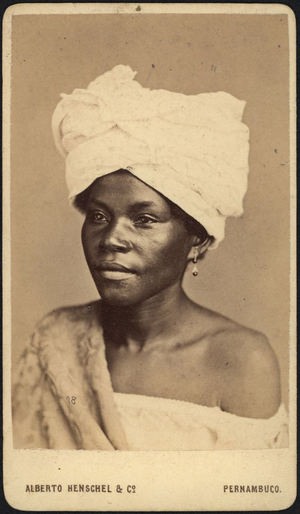 Alberto Henschel_Negra de Pernambuco_Brasil_1869 Beauté