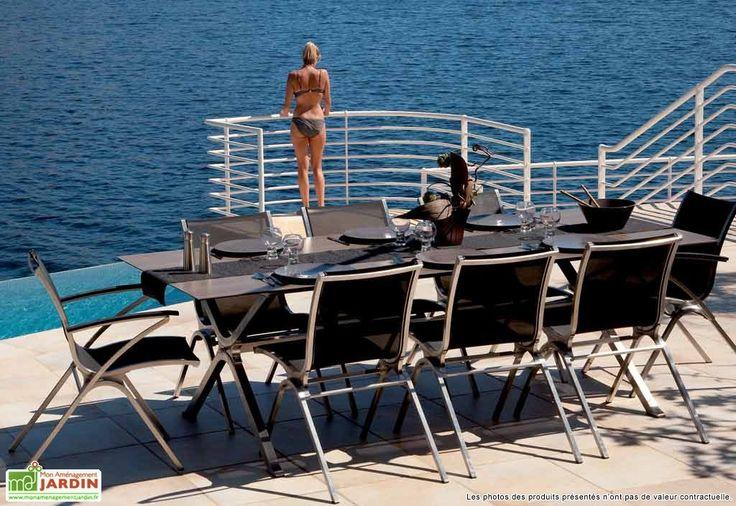 Table verre rectangulaire intemportel 180x90x74 tables - Table verre rectangulaire ...