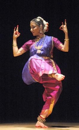 Leela Samson performing at the annual Guru Kelucharan Mohapatra Memorial Dance and Muic Festival
