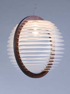 A Large Livingroom Lighting , Pendant Lighting , Pendant Lamp , Light Fixture , Wood and Perspex Pendant Light , Home Decor