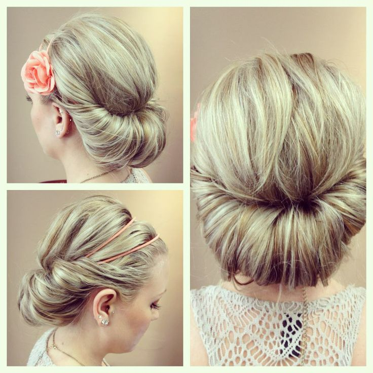 Classic Bridal Updo Hairstyle : 260 best braids and updos images on pinterest