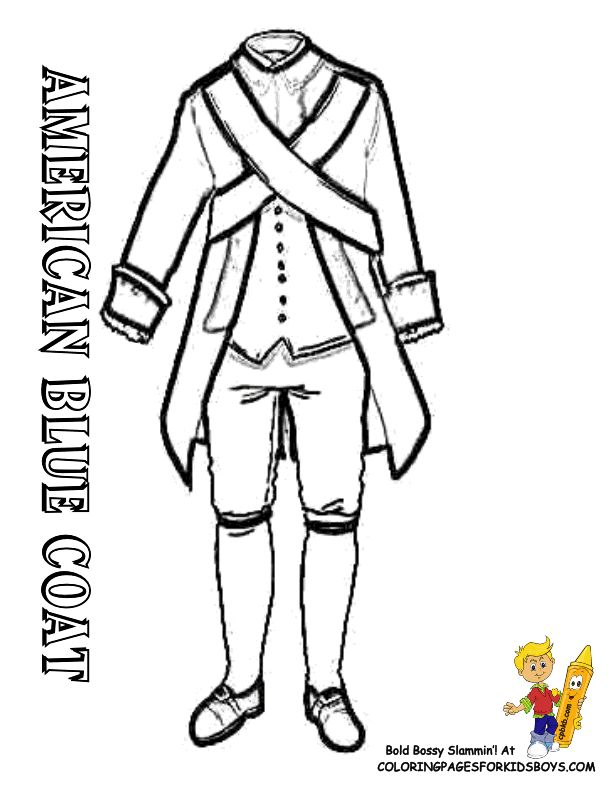american revolution coloring pages # 57