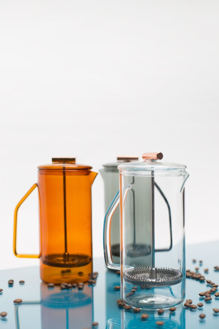 850 mL Glass French Press - Clear — YIELD