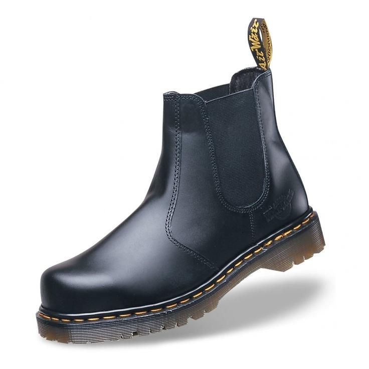 Dr Martens 2028 Black leather dealer boots