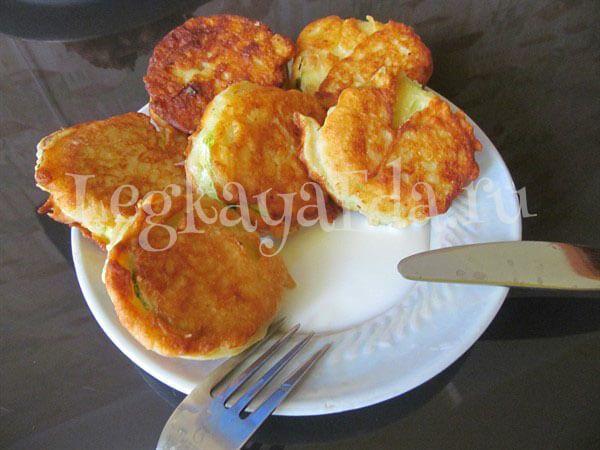 Жареные кабачки в кляре на сковороде - рецепт с пошаговыми фото